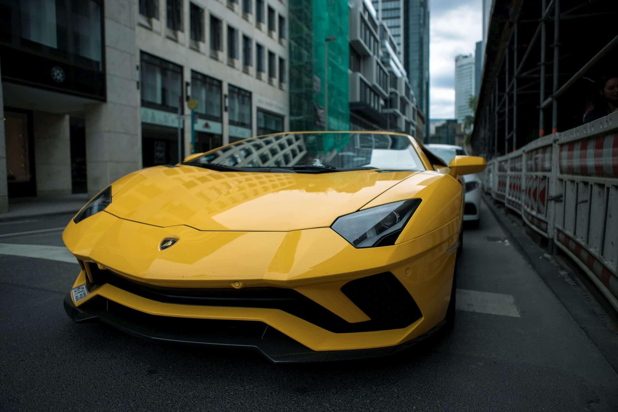 Yellow Lamborghini: Money Saving Goals